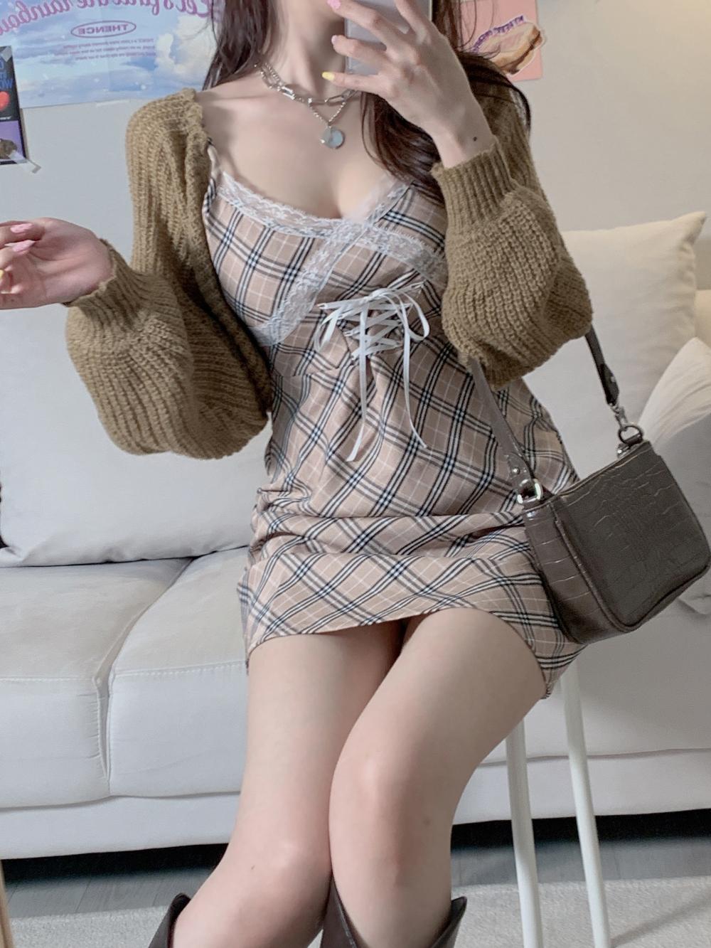 드레스 모델 착용 이미지-S1L12